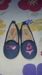 Combo de 04 Sapatos infantis