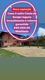 Casa Costa Sauípe laguna alto padrão 890.000,00