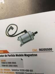 Motor de Partida CG125 Todas Magnetron Novo