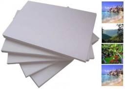 Papel fotográfico adesivo 115g gloss 60 folhas