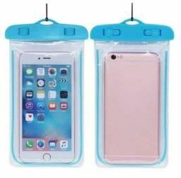Capa - bolsa impermeável para smartphone