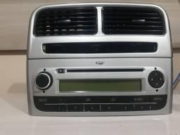 Difusor de ar e radio original punto 2009