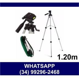 Entrega Grátis * Suporte Tripé para Celular e Câmera 1,20 m * Poucas Peças