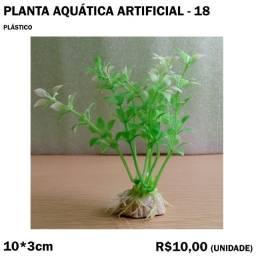 Planta Artificial Aquática Modelo 18