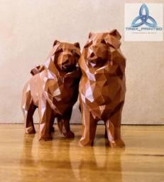Chowchow impressão 3D
