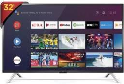 Vendo Smart-tv 32, novinha nunca usada, 2 anos de garantia, com nato fiscal