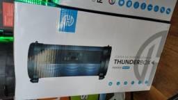 Caixa de som thunderbox rbm 08 1 ano garantia promoção em dinheiro