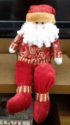 Papai Noel de tecido 55 cm