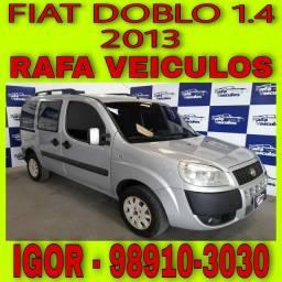 FIAT DOBLO 1.4 MPI FLEX 2013 ENTRADA A PARTIR DE MIL REAIS!! FALAR COM IGOR gfdc