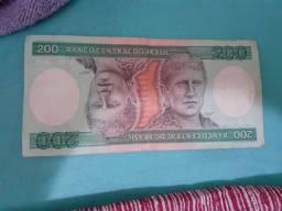 Cédula 200 Cruzeiros