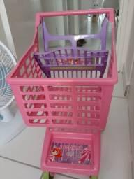 Carrinho compras brinquedo