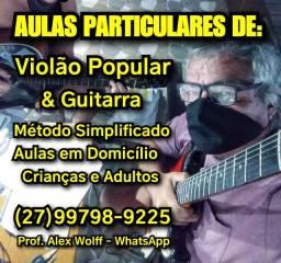 (27)99798.9225 Aulas Violão/Guitarra em Domicílio Vitória es