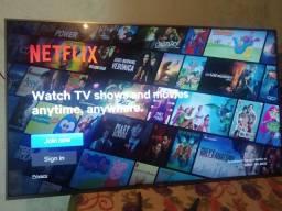 Tv smart 58 UHD 4K , tem nota fiscal, pego tv com volta pra mim