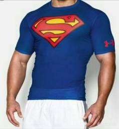 Camisa Compressão Superman Under Armour 100%Original Nova Lacrada!