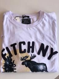 Camiseta Abercrombie e Fitch