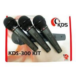 Vendo esse kit de microfone