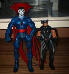 Boneco wolverine legends e sinistro toy biz