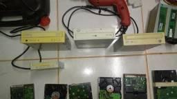 Vendo lote de peças, equipamentos eletrônico e ferramentas