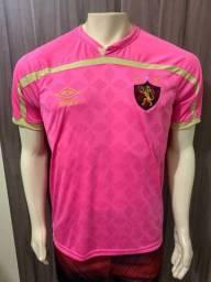 Nova camisa do sport rosa