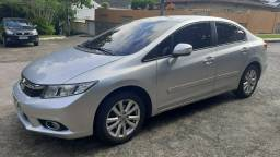 Civic LXR 2.0 autom, couro, borboleta, GNV 5ª ger, magnífico estado, vist 20