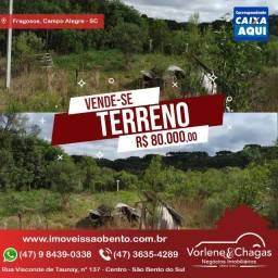 Vendo Terreno em Campo Alegre -SC