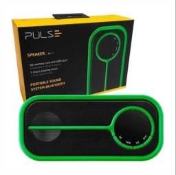 Caixa De Som Portátil Bluetooth, Sd, Fm, Usb 10W Pulse - SP207