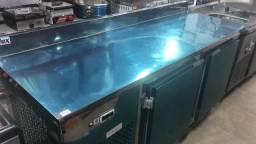 Balcão refrigerado 1,90 mts novo pronta entrega *