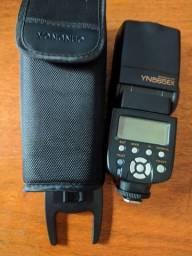 Flash Yongnuo YN565EX Speedlite para Nikon em estado de novo