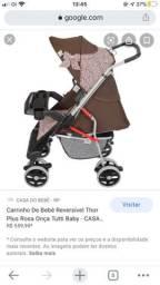 Carrinho de bebê passeio