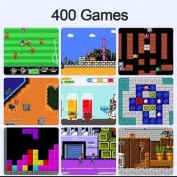 Super Mini Game Lcd com 400 Jogos 8 BITS Portátil