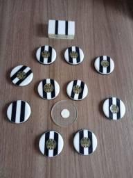 Time de botões de mesa puxador