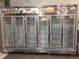Balçao refrigerado