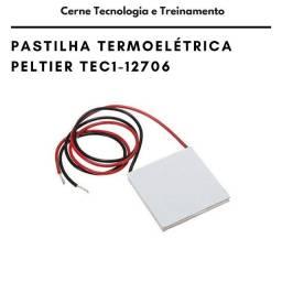 Pastilha Peltier TEC1-12706 Termoelétrica Refrigerador TEC