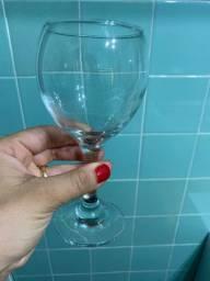 Jogo taças vinho, seis peças