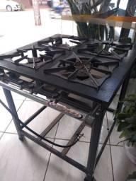 Fogão industrial novo nunca usado 450 reais entregue em casa