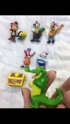 Kit miniaturas Jake e os Piratas