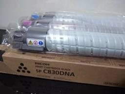 Kit 4 toners impressora ricoh c830