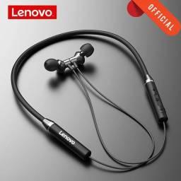 Fone de ouvido Lenovo Bluetooth 5.0
