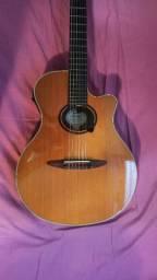 Violão Yamaha Apx9 nylon + Guitarra Squier Strato