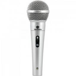 Microfone dinamico com fio