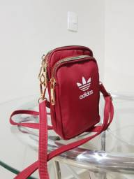 Bolsa alça vermelha Adidas
