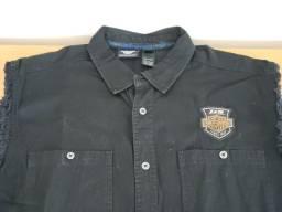 Camisa sem mangas Harley Davidson comemorativa 115 Anos