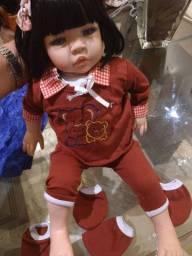 Boneca tipo bebê Reborn