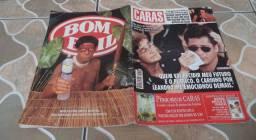Revista Caras 3 De Julho De 1998. Capa Leonardo E Sua Mãe Carmem.