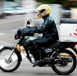 Aluga moto para tele-entrega