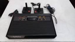 Atari raridade com 17 cartuchos - Leia descrição