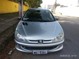 Peugeot 206 ano 2007 completíssimo 12,000 reais