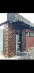 Pergolado com treliça/fachada