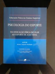 Livro Psicologia do Esporte de Antônio Machado