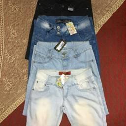 Lote calças jeans femininas